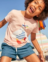 Boden Holiday Appliqué T-shirt