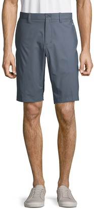 J. Lindeberg High-Rise Button-Front Shorts