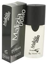 Lanvin Malizia Uomo Silver by Vetyver Eau De Toilette Spray for Men - 100% Authentic