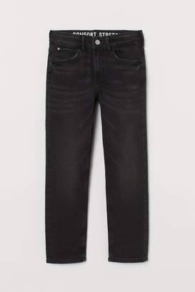 H&M Comfort Slim Fit Jeans - Black
