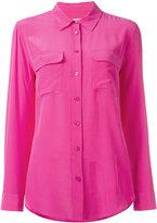 Equipment button-up shirt - women - Silk - M