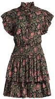 Rebecca Taylor Chouette Floral Mini Dress