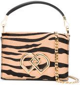 DSQUARED2 mini DD zebra print bag - women - Leather/Pony Fur - One Size
