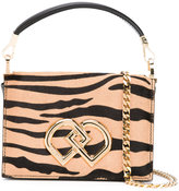 DSQUARED2 mini DD zebra print bag