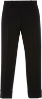 Emilio Pucci Pleated Crop Trousers