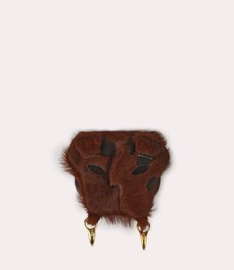 Vivienne Westwood Lion Lion Coin Case Brown