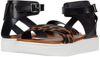 Mia Little Ellen-D (Little Kid/Big Kid) (Black Leopard) Girls Shoes