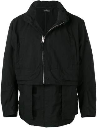Stone Island Shadow Project half zipped jacket