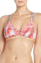 Maaji Women's Walk This Way Triangle Bikini Top