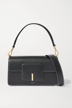 Wandler Georgia Leather Shoulder Bag - Black