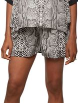 A Pea in the Pod Rachel Zoe Secret Fit Belly Printed Maternity Shorts