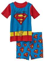 DC Comics Superman Baby Boys 2 Piece Shirt & Shorts Pajama Set