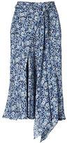Polo Ralph Lauren Floral Silk A-line Skirt