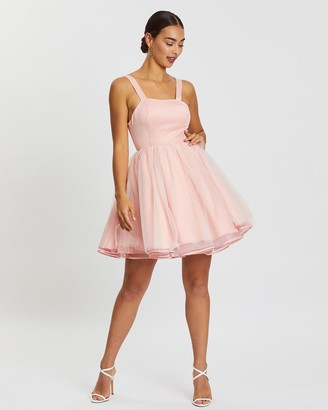 Loreta - Women's Pink Mini Dresses - Prom Dress - Size One Size, XS at The Iconic