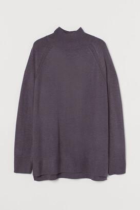 H&M Knit Mock-turtleneck Sweater