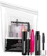 Tweezerman Hot Pink Mini Brow Rescue Kit by
