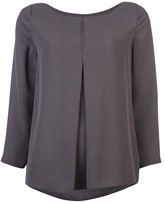 Halston Draped reversible top