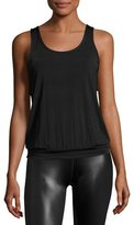 Beyond Yoga Sleek Stripe Breezy Sports Tank Top, Black