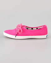 Kate Spade keds for Keds Canvas Pointer Sneaker, Neon Pink
