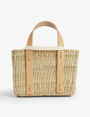 Muun Mini Sirius straw bag