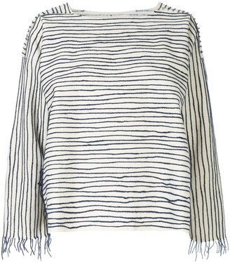 Toogood Striped Oversized Top