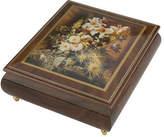 Ercolano NEW White Glory Musical Jewellery Box