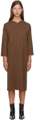 Max Mara Brown Wool Lerici Dress