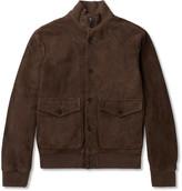 Hackett - Suede Blouson Jacket