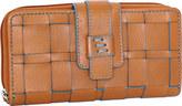 Nino Bossi Women's Wendi Woven Leather Wallet