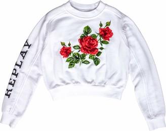 Replay Girl's Sg2096.050.22852 Sweatshirt