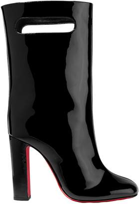 Christian Louboutin Bag Bootie 100 Patent-leather Boots