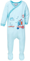 Coccoli Beach Hut Print Footie (Baby Boys)