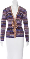 Missoni Wool-Blend Knit Cardigan