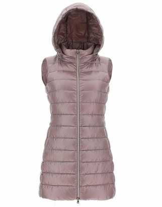 Herno Pink Lightweight Fitted Long Vest