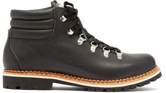 Montelliana Alberta Leather Hiking Boot - Womens - Black