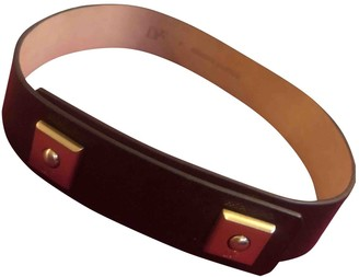 Diane von Furstenberg Brown Leather Belts