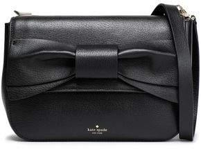 Kate Spade Olive Drive Hetty Bow-embellished Leather Shoulder Bag