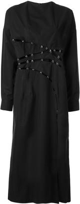 Boyarovskaya Clasp-Embellished Dress