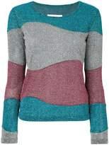 MM6 MAISON MARGIELA lurex panel jumper