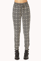 Forever 21 Eclectic Woven Joggers