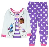Disney Doc McStuffins Little Girls Toddler Long Sleeve Cotton Pajama Set