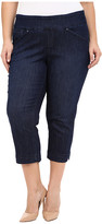 Jag Jeans Plus Size Marion Crop in Blue Shadow Comfort Denim