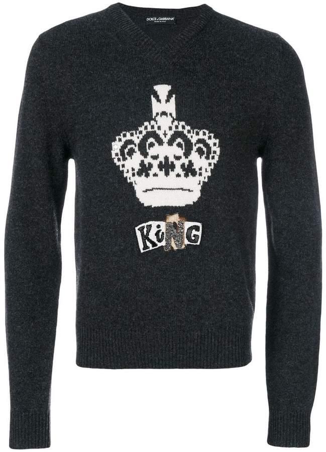 Dolce & Gabbana crown sweater