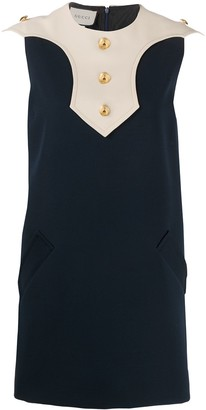 Gucci Silk-Blend Shift Dress