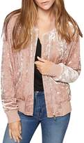 Sanctuary Velvet Bomber Jacket - 100% Exclusive