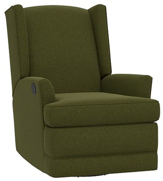 Pottery Barn Kids Modern Wingback Swivel Glider & Recliner