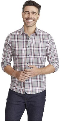 UNTUCKit Classic Cotton Rousseau Shirt (Grey) Men's Clothing