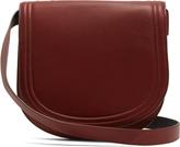 Diane von Furstenberg Large saddle leather cross-body bag