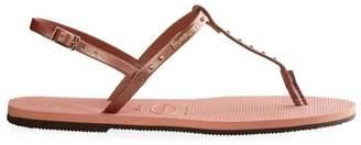 Havaianas You Riviera Metallic Stud Sandals