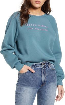 Project Social T Catch Flights Fleece Sweatshirt